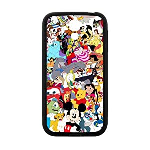 Disney Family Pattern Plastic Case For Samsung Galaxy S4