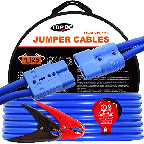 TOPDC Jumper Cables with