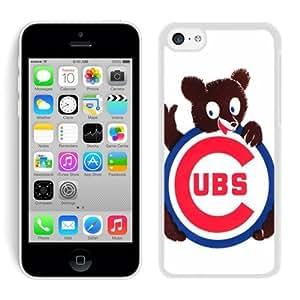 iPhone 5C Case,Chicago Cubs 1 White For iPhone 5C Case WANGJING JINDA