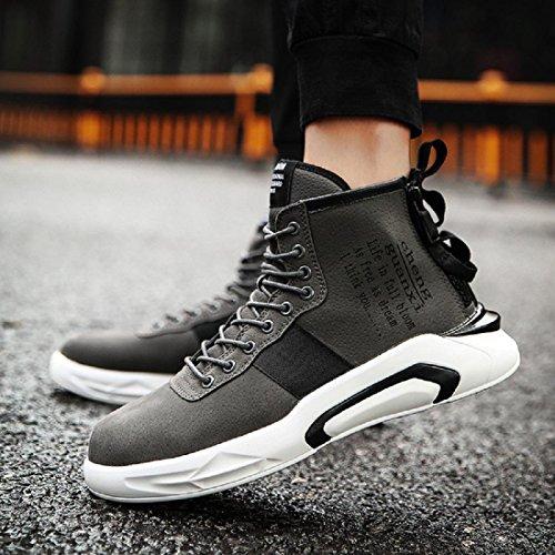 Hombre Invierno Moda Mantener Caliente Zapatos Deportivos Ocio Zapatillas Deportivas Zapatillas Informales Protección Para Los Pies Euro Talla 39-44