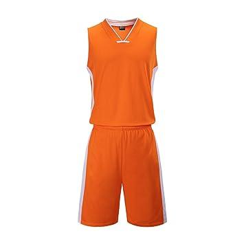 8d59f8307dc43 Creing Maillot De Basket pour Adulte Basketball Jersey Uniform T-Shirt  Basket-Ball Uniforme