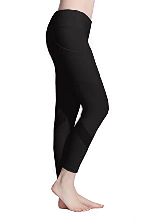 d8b081dfb Lotus Instyle Women s Mesh Panels Fitness Trousers Gym Leggings Yoga Pants  (XS