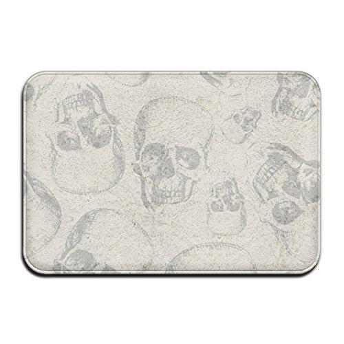 Wyuhmat1 Halloween Skull 15.7 X 23.6 Inch(40x60cm) Restaurant/Bar Anti-Fatigue Rubber Floor -