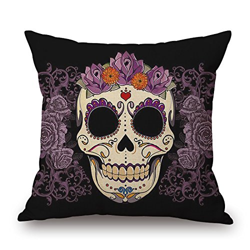 [Uloveme The Skull Throw Pillow Covers Of ,16 X 16 Inches / 40 By 40 Cm Decoration,gift For Christmas,boys,kitchen,adults,birthday,outdoor (2] (Oriole Bird Costume)