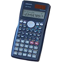 OFFDIX Scientific Calculator for Office& Students Solar and Battery Dual Power Electronic Calculator Portable 12 Digits Large LCD Display Calculator for Students,Staff and Teachers