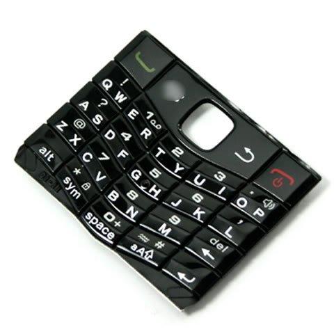 [Black] Original OEM Genuine Keyboard Keypad Button Buttons Key Keys FOR BlackBerry Pearl 3G 9100 9105 (Blackberry 9100 Original)