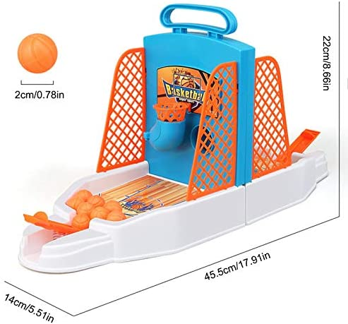 Funny Mini Finger Basketball Shooting Toy Kids Game Intelligence O6M2