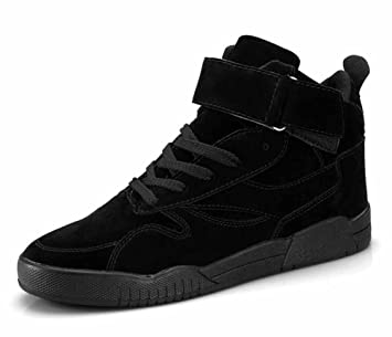 GLSHI Hombres Ligero Corriendo Zapatos 2018 Primavera Nuevo Casual Patinar Zapatos Moda Plano Zapatillas (Color