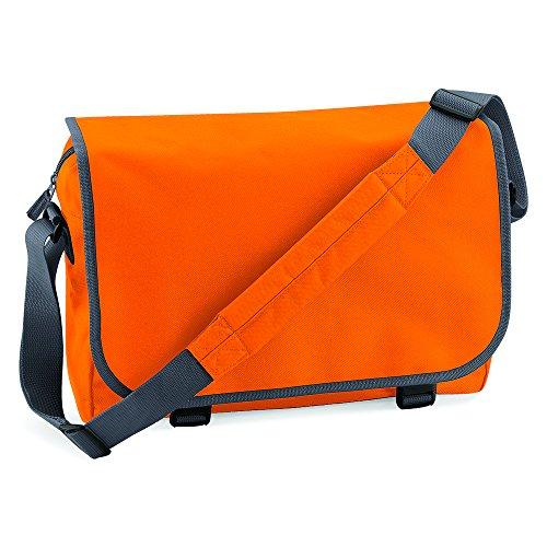 Grey Arancione Borsa Bagbase orange Graphite Messenger qEwXXdA