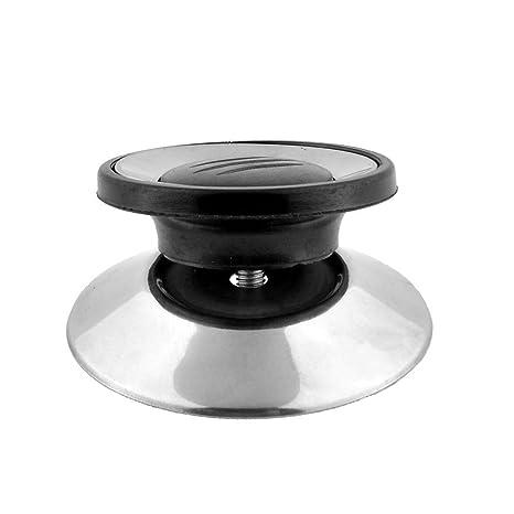 Pomo de cocina de tamaño pequeño, para olla y estufa de cocina, tapa de cacerola de vidrio templado, manilla de repuesto para cocina de Horizon 4cm/1.57in ...