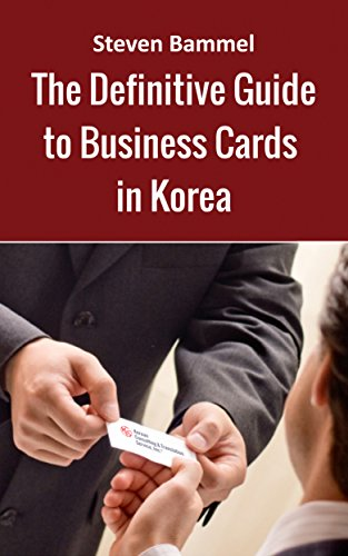 Steven bammels definitive guide to business cards in korea steven bammels definitive guide to business cards in korea everything you need to know by reheart Images