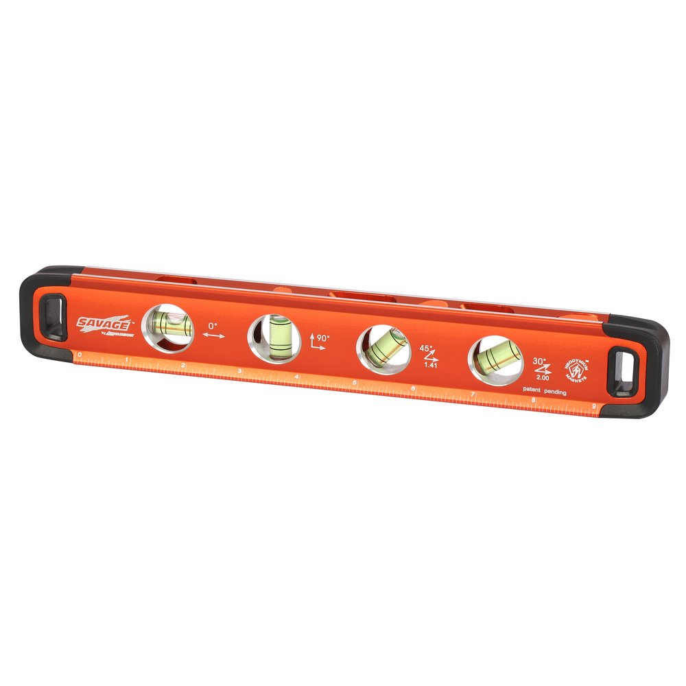 Swanson SVT011 11-Inch Savage Aluminum Torpedo Level with Neodymium Magnets