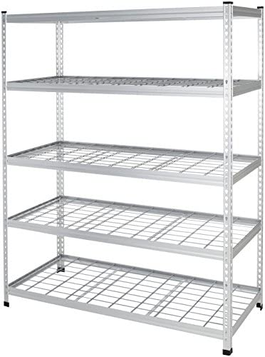AmazonBasics Storage Shelving Double Aluminum product image