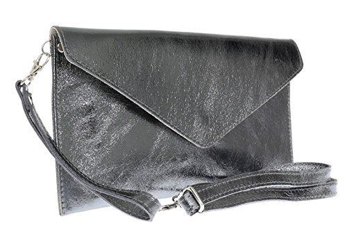 pour femme S pewter Craze Metalic London Pochette FxUZE