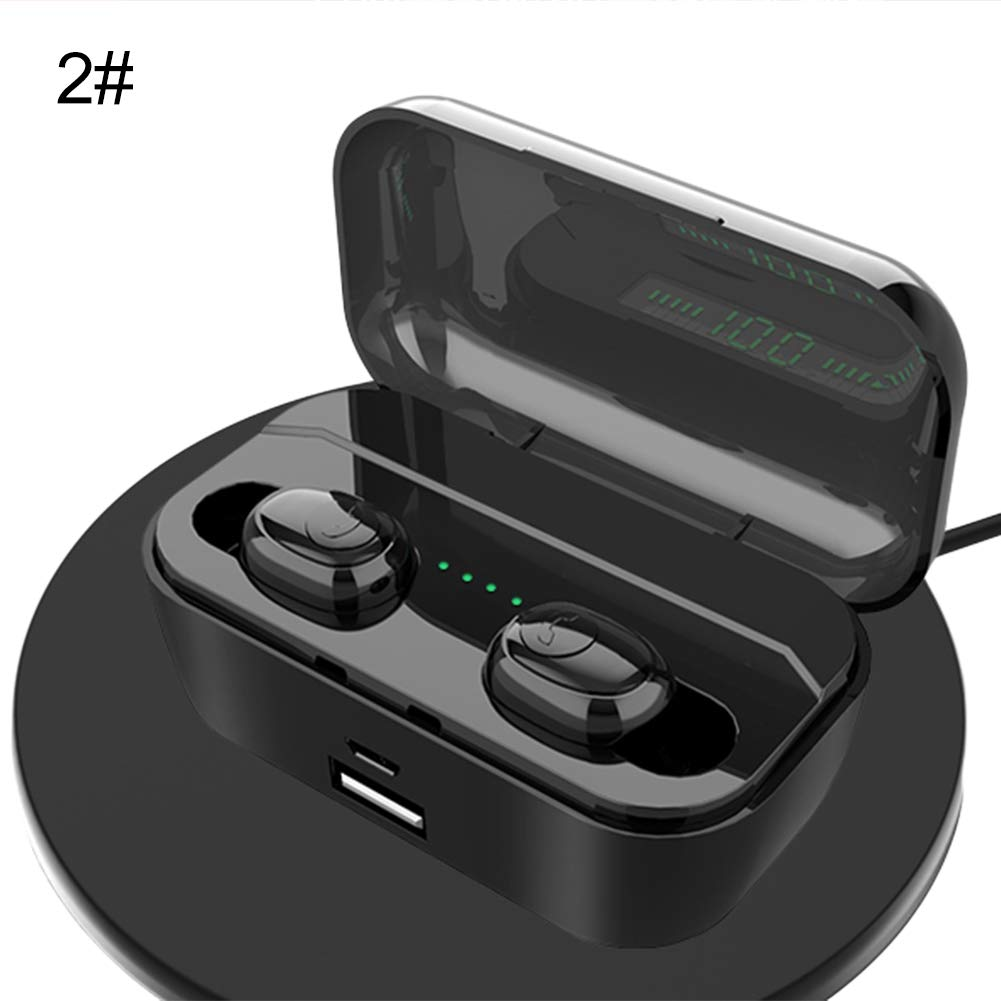 obiqngwi 1/2 Unids Auriculares Bluetooth Estéreo Bilaterales ...