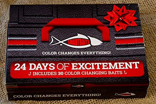 Smartbaits New 24 Day Countdown Calendar. The Ultimate Fishing Lure Advent Calendar for The Holiday Season.