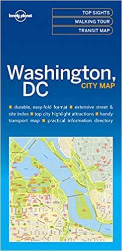 Lonely Planet Washington DC City Map Lonely Planet City Maps: Amazon on
