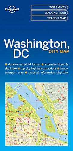 Lonely Planet Washington DC City Map