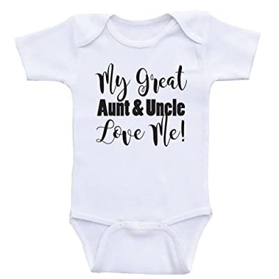 a4faa4719f2 Heart Co Designs Great Aunt Uncle Baby Clothes My Great Aunt and Uncle Love  Me Baby