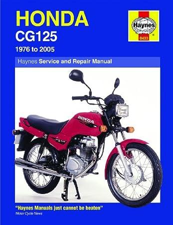honda cg125 k1 cg125 b cg125 c cg125 e cg125br e 1976 2007 haynes rh amazon co uk Atlas Honda CG 125 Honda CG 125 Modified