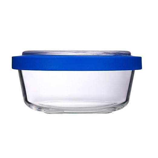 ZL-Caja de almacenamiento Recipiente de Vidrio Recipiente ...