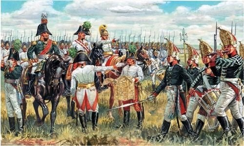 1:72 Scae Napoleonic Wars Austrian & Russian General Staff
