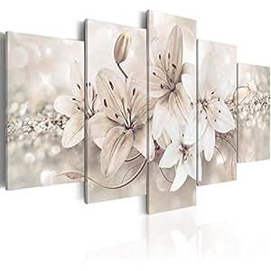 murando - Cuadro 200x100 cm - Flores - impresión de 5