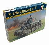Italeri - I6489 - Maquette - Chars d'assaut - Panzer 38 T Ausf F - Echelle 1:35