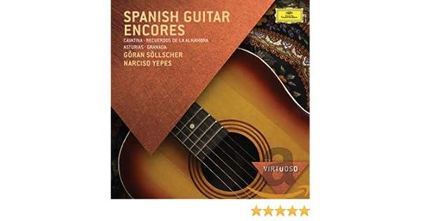 Guitarra Española: Narciso Yepes / Göran Söllscher: Amazon.es: Música