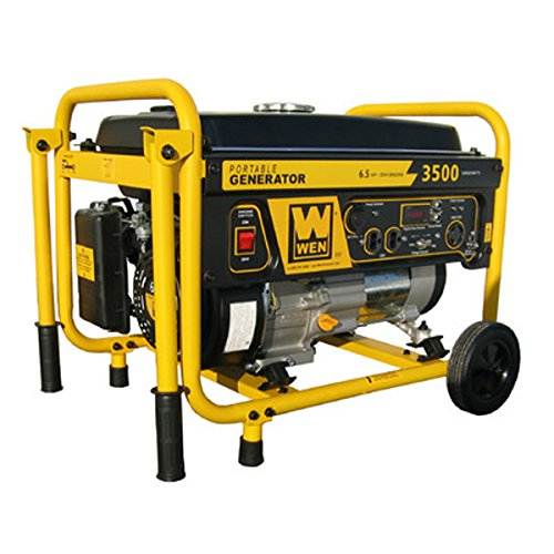 The 3,500 Watt Wheel Kit Gasoline Generator