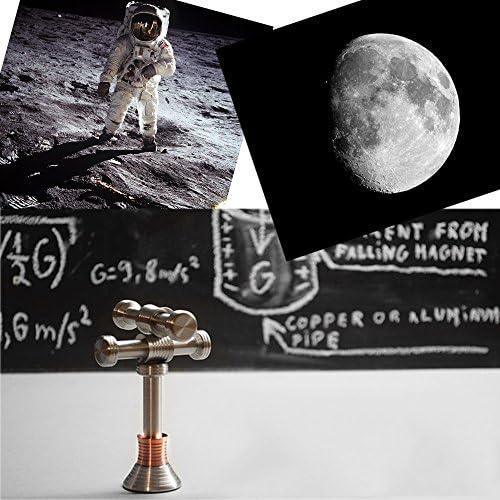 Moondrop Fidget Desk Fun Kids Toys Displaying Gravity On Moon Earth Mars Hand
