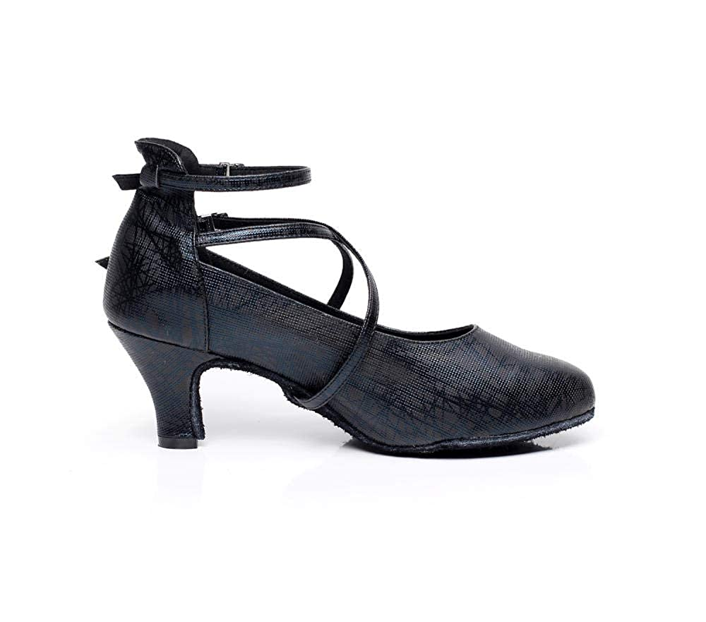 JINGXINSTORE Zapatos de Baile Profesionales para Mujer Zapatos de Baile de sal/ón