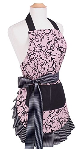 Flirty Aprons Women's Original Chic Pink Apron