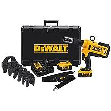 DEWALT DCE200M2K 20V Plumbing Pipe Press Tool Kit with Crimping Heads