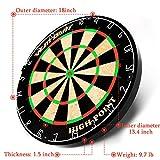 "WIN.MAX 18"" Bristle Dartboard Steel Tip Dart"