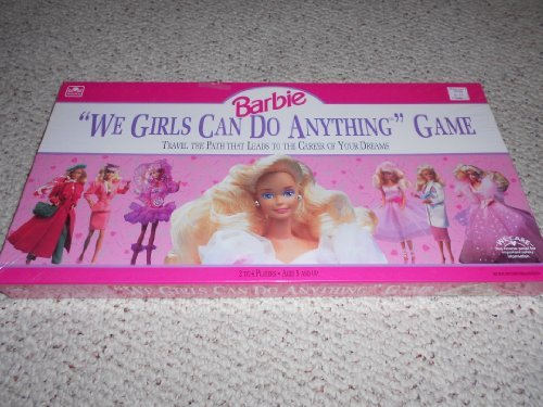 1991 We Girls Can Do Anything Barbie Doll Game (Doll Board Games)