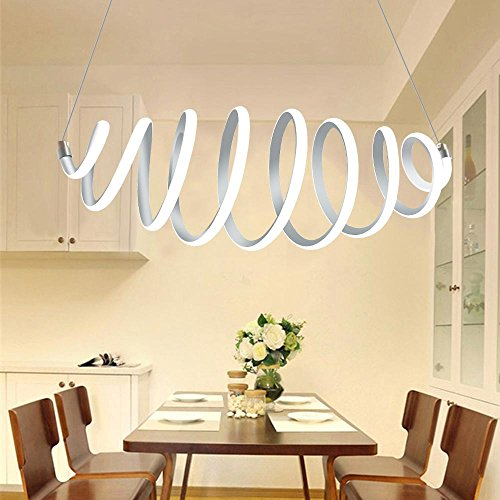 Spiral 10 Light Pendant - 7