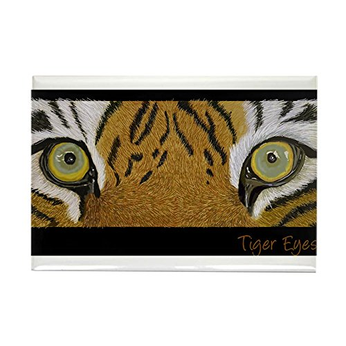 CafePress - Tiger Eyes Rectangle Magnet - Rectangle Magnet, 2