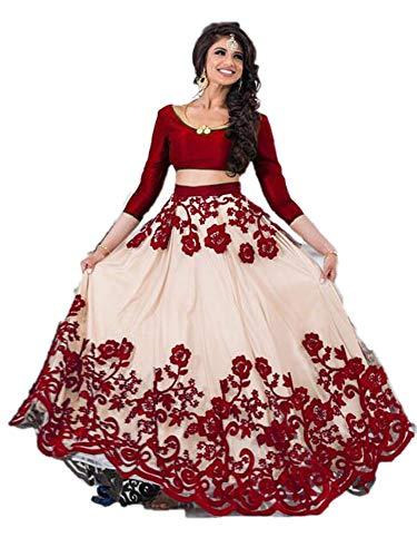 REKHA Ethinc Shop Latest Bridal Embroidery Indian Designer Lehenga Choli Dupatta - Bridal Indian Lehenga