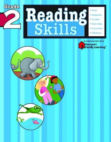 Reading Skills: Grade 2 (Flash Kids Harcourt Family Learning)
