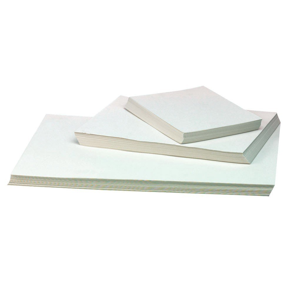 A2 Cartridge Paper White Recycled for Artists Sketching 140gsm Pack of 50 Sheets by BCreative ® Be Creative