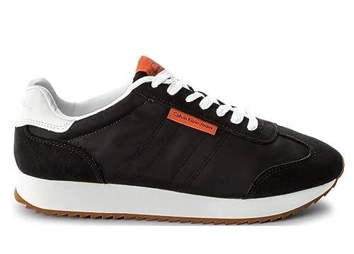 Calvin Klein Graph NylonSuede, Sneakers Low Man: Amazon.co