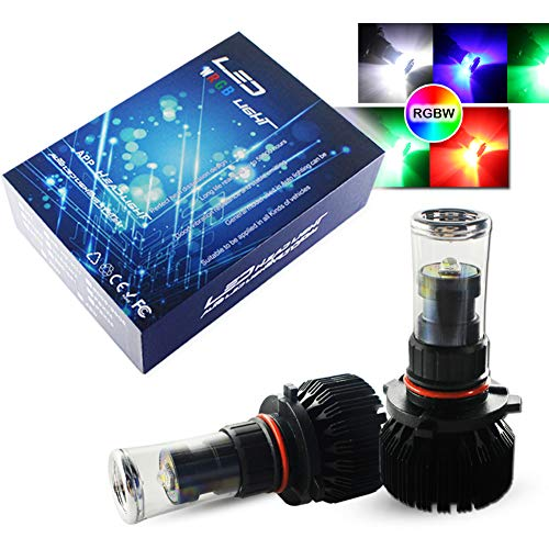 Multi Color Led Fog Light Bulb in US - 6