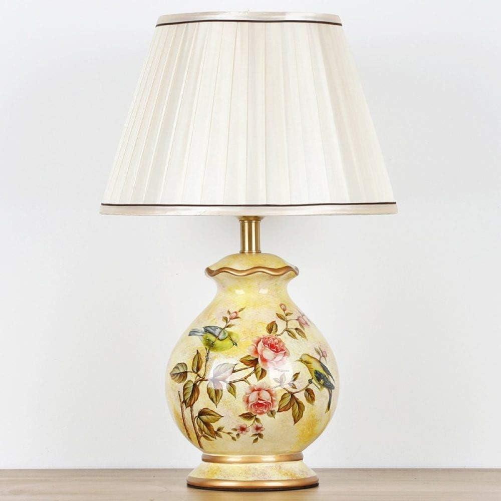 Lámparas de escritorio Lámpara de mesa de cerámica clásica ...