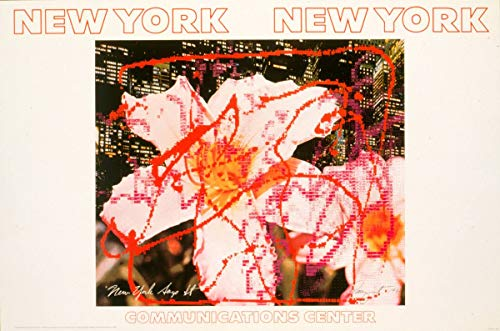 Historic Poster | New York, New York Communications Center Rosenquist. 1 | Antique Vintage Fine Art Reprint 12in x 08in