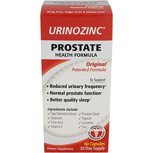 Urinozinc Original Prostate Formula Capsules product image