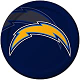 Creative Converting 8 Count San Diego Chargers Paper Dinner Plates