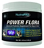 POWER FLORA - Probiotics for Dogs and Cats with 9 Live Strains –