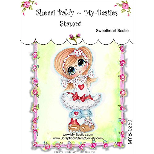 UPC 700153829588, My-Besties Clear Stamps, Sweet Heart, 4 by 6-Inch
