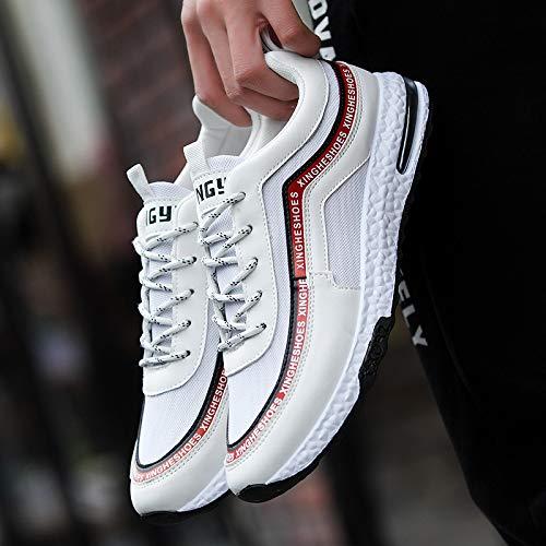 Shoes Elasticity NANXIEHO Shoes Shoes Men's Harajuku Sneakers Leisure Retro Fashion Sport Trend Bzq75H